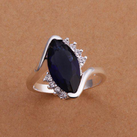Fashion Fashionable Embellished Black Diamond Women's Ring