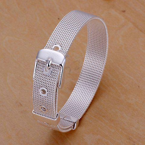 Trendy Cool Watchband Shape Bracelet For Women - 20CM*1.0CM  Mobile