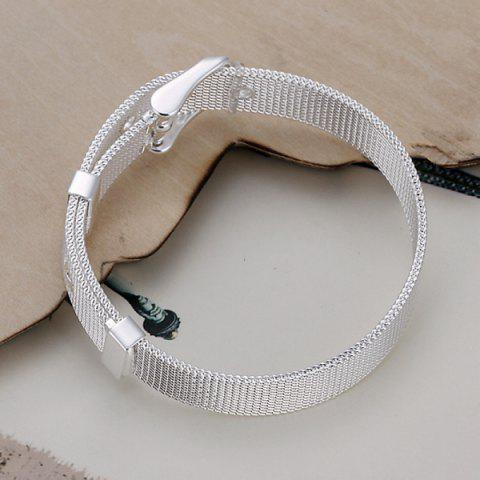 Shop Cool Watchband Shape Bracelet For Women - 20CM*1.0CM  Mobile