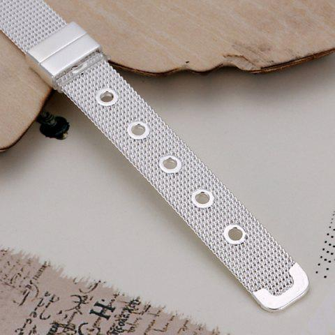 Fashion Cool Watchband Shape Bracelet For Women - 20CM*1.0CM  Mobile
