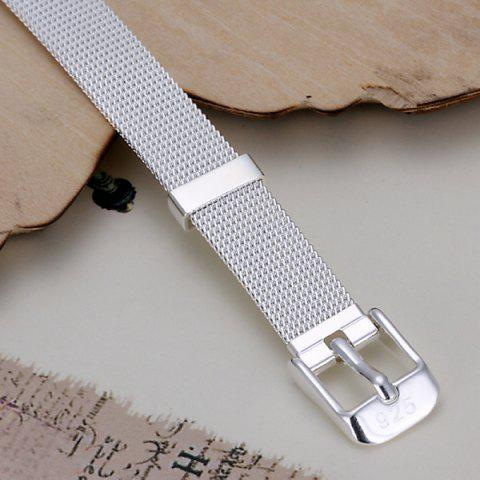 Hot Cool Watchband Shape Bracelet For Women - 20CM*1.0CM  Mobile