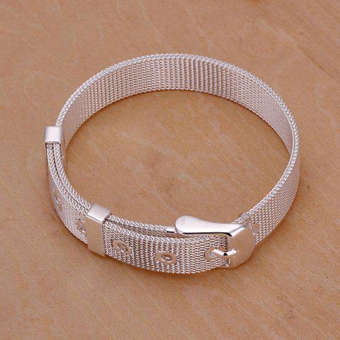 Outfits Cool Watchband Shape Bracelet For Women - 20CM*1.0CM  Mobile
