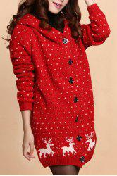 Red Cardigan For Women