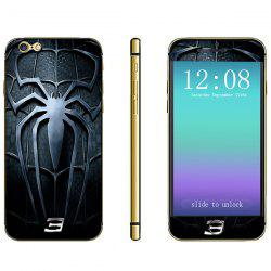 Fashionable Phone Sticker Anti-scratch Decal Skin with Spider Pattern for iPhone 6 Plus - 5.5 inches