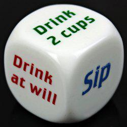 1pcs Drink Decider Games Bar Party Pub Dice Funny Toy Drinking Game -