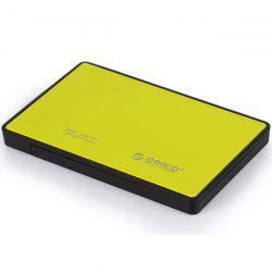 ORICO 2588US3 Tool Free Screw-Less 2.5-inch SATA External Hard Drive Enclosure Adapter Case Super Speed USB 3.0 for HDD SSD SATA Drive -