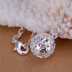 Heart Silver Plated Pendant