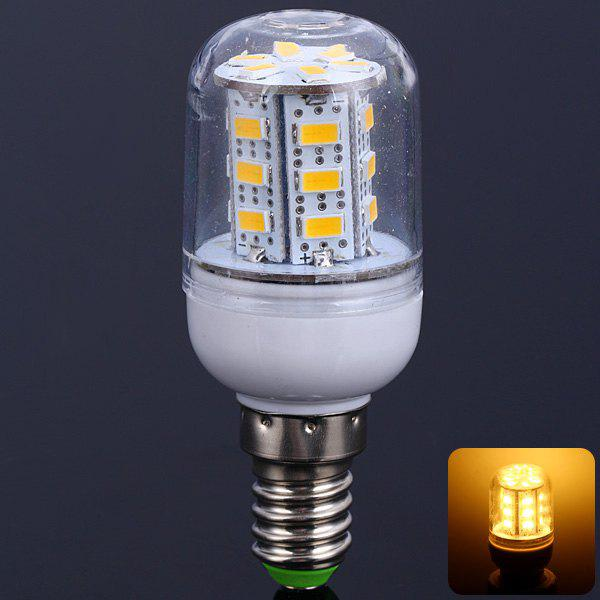 Affordable 10W E14 SMD 5630 24-LEDs 900LM Warm White LED Corn Bulb with Cover (AC 220V)