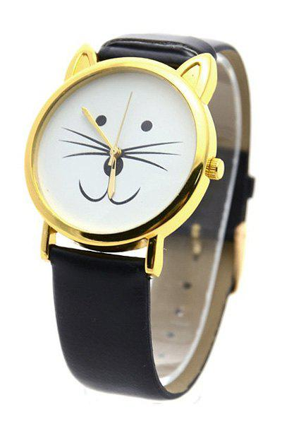Cute Kitten Shape Watch Women DESCRIPTION