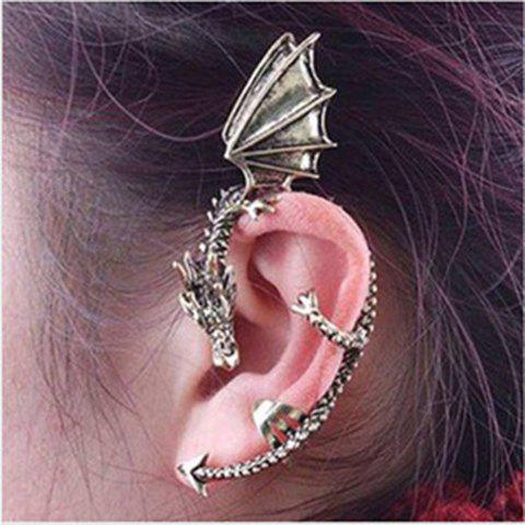 Latest Gothic Style Dragon Shape Earring - RANDOM COLOR PATTERN  Mobile
