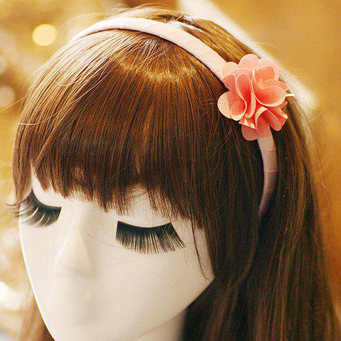 Buy ONE PIECE Stylish Women's Solid Color Flower Design Hairband