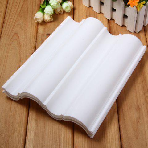Hot 3pcs Wave Style Dry Plate Fondant Cake Decoration Mould Tool