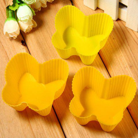 Outfit 3pcs Butterfly Style Silicone Embossing Fondant Decoration Mould Cake Decorating Sugar Arts Mold