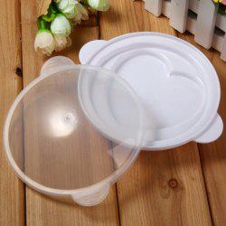 Heart Style Egg Steamer Microwave Oven Supplies Kitchen Cooker Tool -