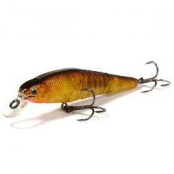 Yoshikawa 8cm Hard Fishing Bait Shrimp 8.7g Lifelike Lure with Fishhook - RANDOM COLOR