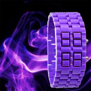 LED Rubber Lava Watch -