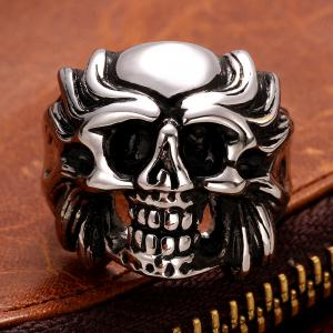 Skull Shape Alloy Ring -  US SIZE 8