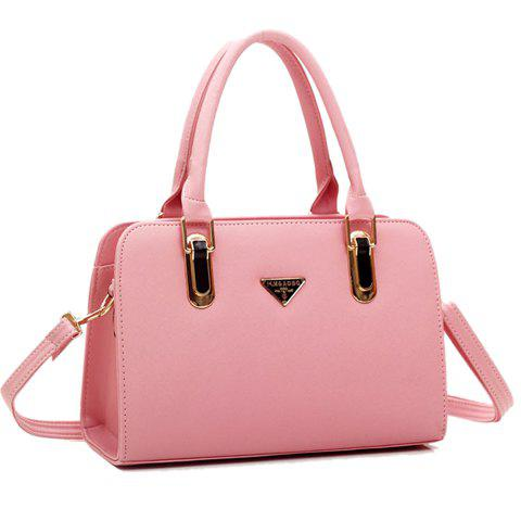 Trendy Casual Metallic and Candy Color Design Women's Tote Bag