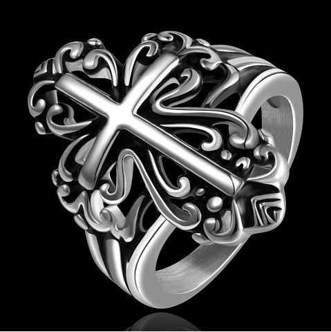 Outfit Cross Shape Ring - US SIZE 8  Mobile