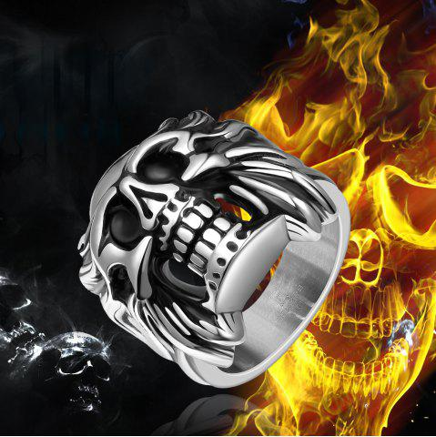 Outfits Skull Shape Alloy Ring - US SIZE 8  Mobile