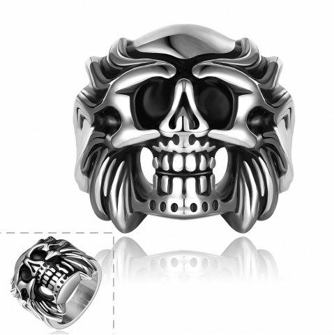 Outfit Skull Shape Alloy Ring - US SIZE 8  Mobile