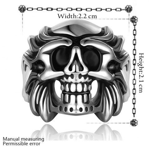 Unique Skull Shape Alloy Ring - US SIZE 8  Mobile