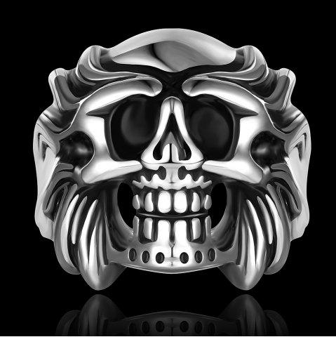 Discount Skull Shape Alloy Ring - US SIZE 8  Mobile