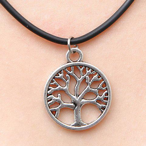 New Chic Women's Tree Pendant Necklace