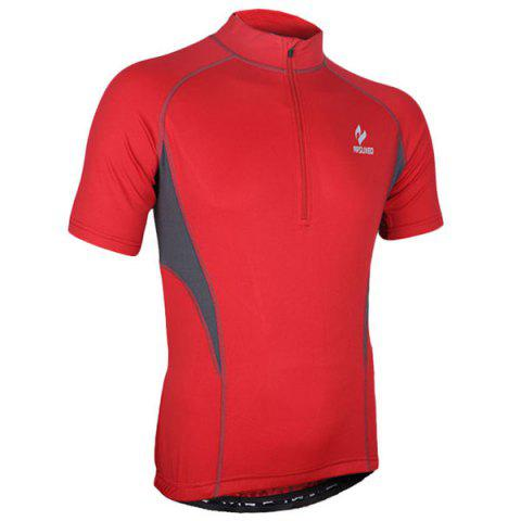 Discount Arsuxeo 665 Quick-dry Cycling Jersey Sweatshirt Bike Bicycle Racing Running Short Sleeve Clothes -   Mobile