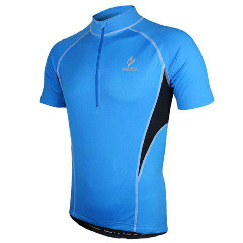 Outfit Arsuxeo 665 Quick-dry Cycling Jersey Sweatshirt Bike Bicycle Racing Running Short Sleeve Clothes -   Mobile