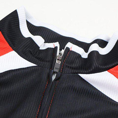 Shops Arsuxeo ZLS06V Cycling Suits Jersey Jacket Pants Set Bike Bicycle Running Long Sleeve Clothes for Male -   Mobile