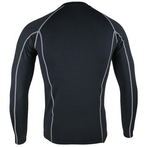 Online Arsuxeo C19 Soft Cycling Jersey Bike Bicycle Racing Running Long Sleeve Clothes for Male -   Mobile