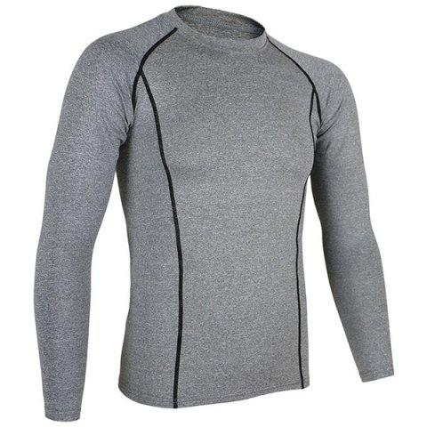 Best Arsuxeo C19 Soft Cycling Jersey Bike Bicycle Racing Running Long Sleeve Clothes for Male -   Mobile