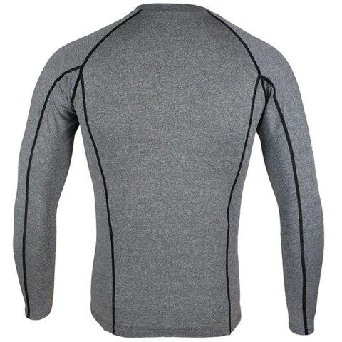 Chic Arsuxeo C19 Soft Cycling Jersey Bike Bicycle Racing Running Long Sleeve Clothes for Male -   Mobile