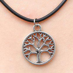 Chic Women's Tree Pendant Necklace