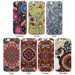 Stylish TPU Back Cover Case of Retro Flower Pattern for iPhone 6 - 4.7 inches -