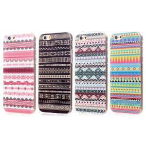 Stylish TPU Back Cover Case of Ethnic Pattern for iPhone 6 - 4.7 inches -