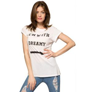Short Sleeve Letter Graphic T-Shirt