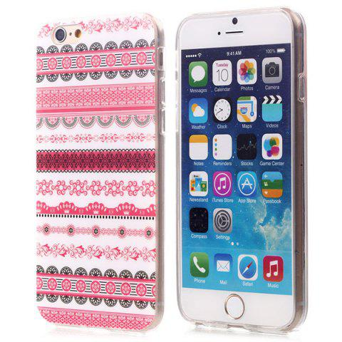 Unique Stylish TPU Back Cover Case of Ethnic Pattern for iPhone 6 - 4.7 inches