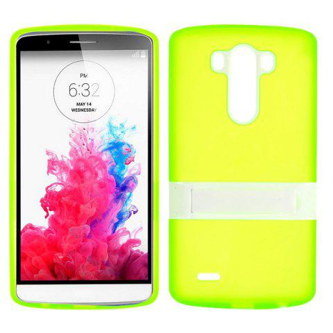 NEON GREEN Matte Style Phone Case with Support for LG G3 D850 LS990