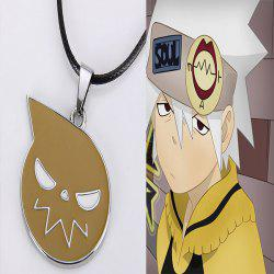 48cm Japanese Anime Soul Eater Logo Necklace