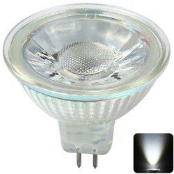 MR16 4W COB Spotlight 400lm 6000K 12V pur LED White Light intérieure - BLANC FROID