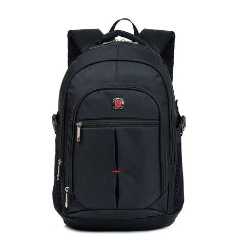 Latest Trendy Zippers and Buckle Design Men's Backpack