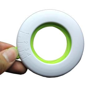 High Quality Round Square Style Plastic Measuring Italy Noodles Device Tool - WHITE/GREEN