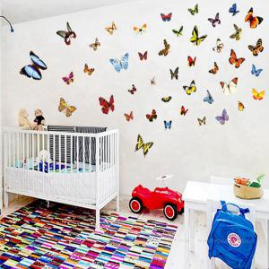 Colorful Butterfly Style Wall Sticker Home Appliances Decor Wall Decals -