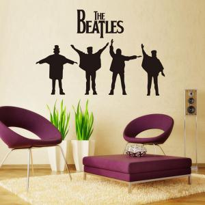 The Beatles Style Wall Sticker Home Appliances Decor Wall Decals -