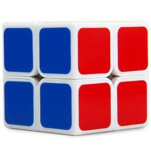 Shengshou 7106A - 3 Magic Cube Aurora Creative 2 x 2 x 2 Tuning Spring Pocket Brain Teaser Toy -