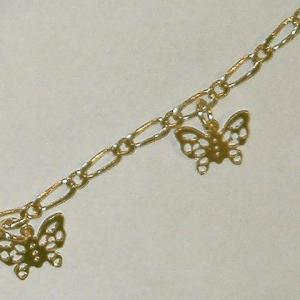 Fashionable Openwork Butterfly Body Chain For Women -