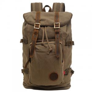 Fashionable Buckle and String Design Men's Backpack