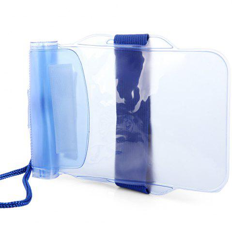 Trendy PVC Waterproof Sports Armband Pouch Case Arm Band Bag with Strap -   Mobile